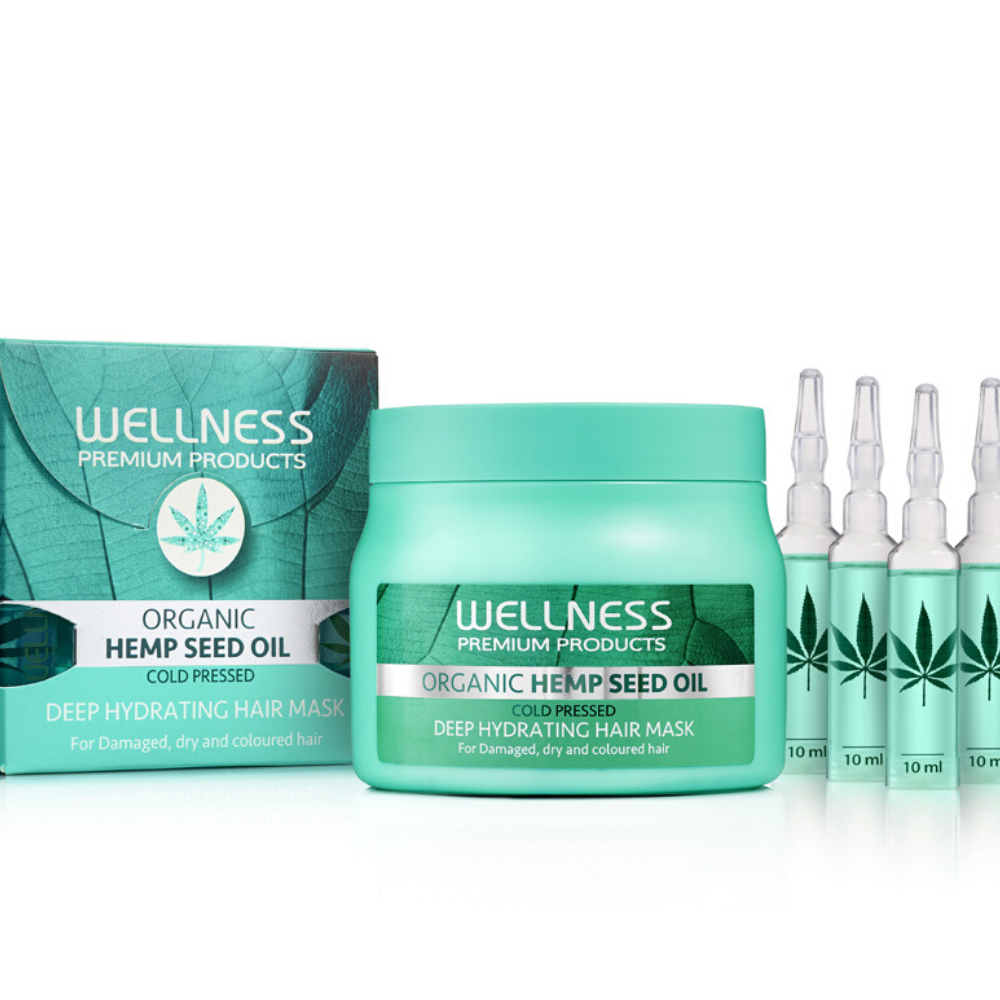 Wellness Premium Deep Hydrating Maska 500ml + Ampułki Gratis