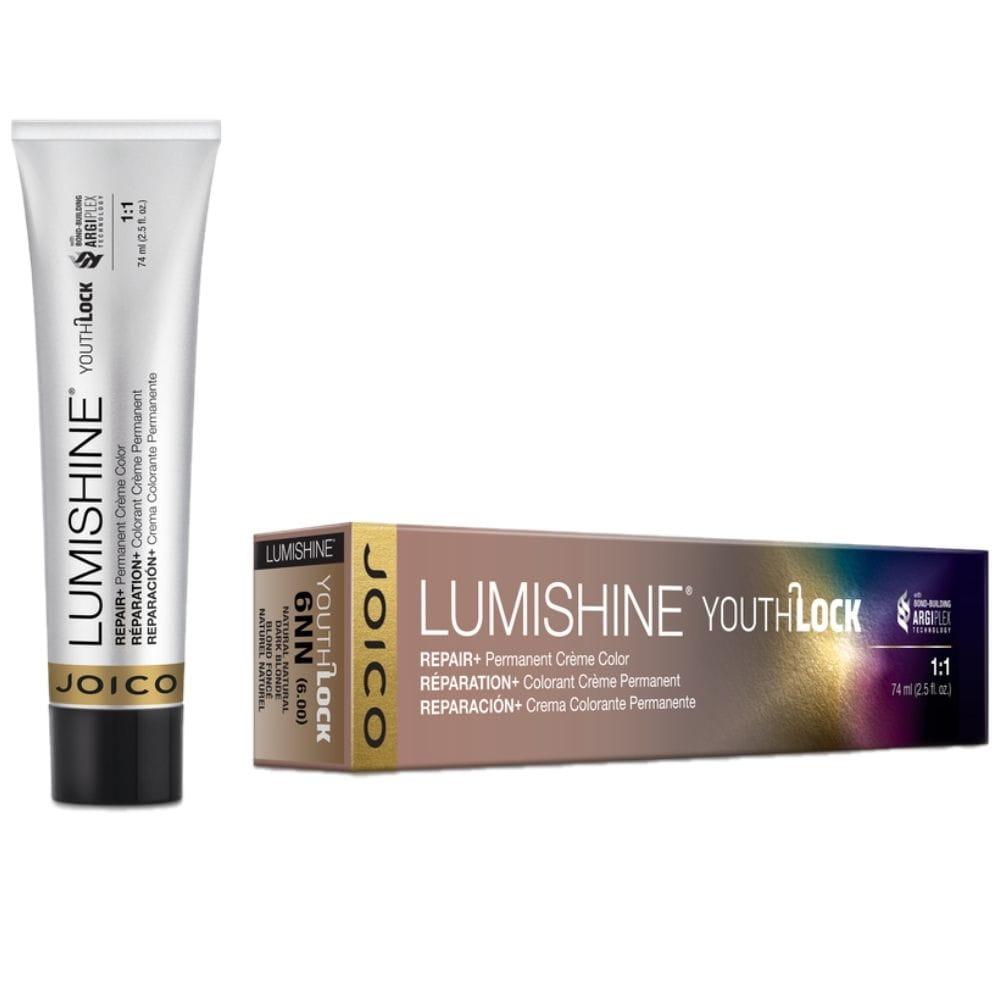 Joico Lumishine YouthLock Permanent Color - Farba do włosów z kolagenem 74 ml