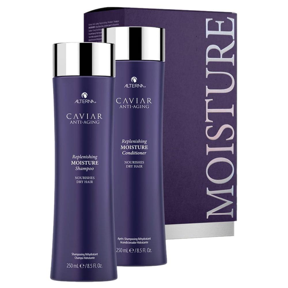 Alterna Caviar Replenishing Moisture zestaw nawilżający szampon 250 ml odżywka 250 ml